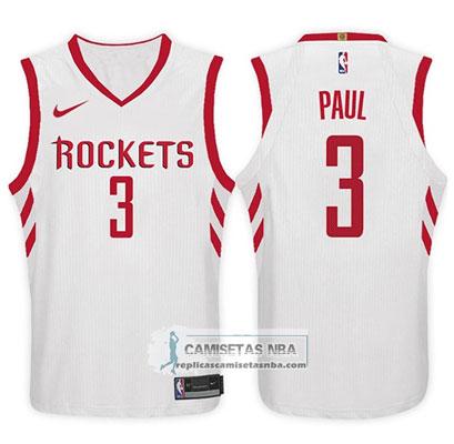 Camiseta rockets chris paul 2017-18