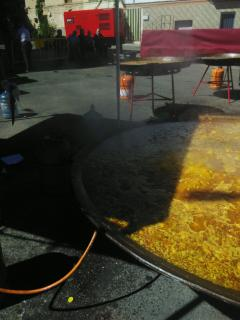 Fotos de Paellas gigantes