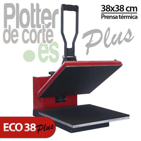 Nueva prensa termica 38x38 cm muelles modelo eco38 plus oferta limitada solo 10 unidades