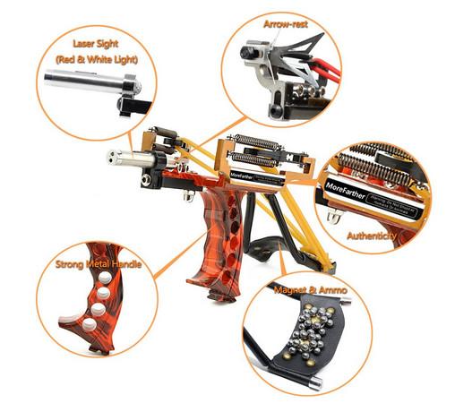 Tirachinas gran variedad de modelos y precios para la práctica de tiro al blanco