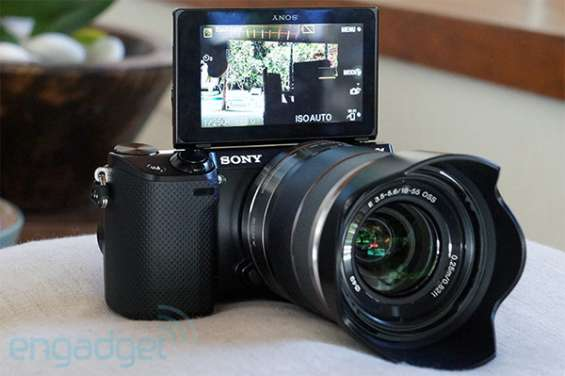 Sony nex-5r 16.1mp full hd pantalla táctil wifi