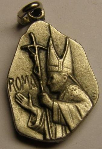 Fotos de Medalla juan pablo ii,en oro o en plata,distintos modelos 6