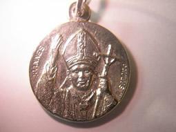 Fotos de Medalla juan pablo ii,en oro o en plata,distintos modelos 4