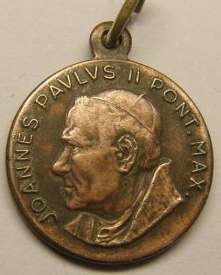 Fotos de Medalla juan pablo ii,en oro o en plata,distintos modelos 7