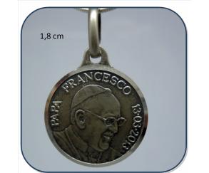 Medalla papa francisco,en oro o en plata,distintos modelos