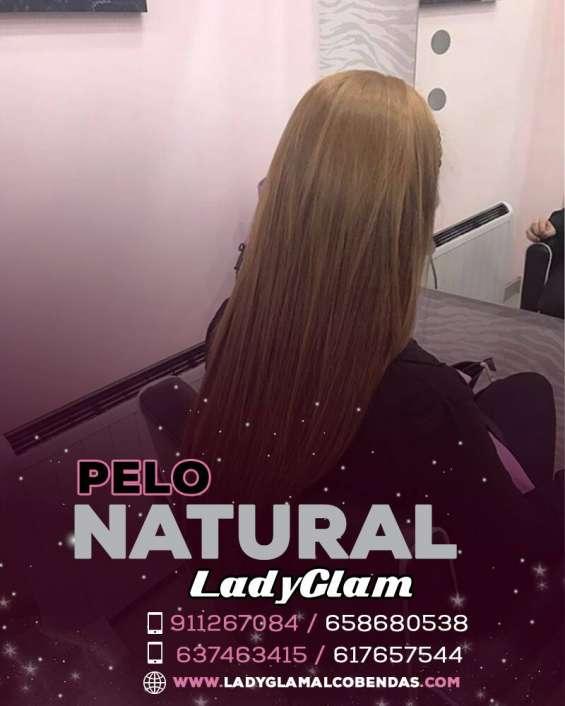 Extensiones de cabello con estilo