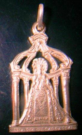 Medalla virgen del carrascal en oro y plata,distintos modelos
