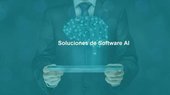 Inteligencia artificial soluciones de software ai programación