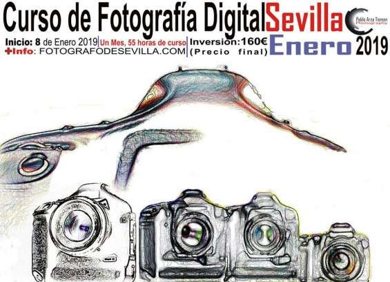 Curso de fotografia digital sevilla enero 2019