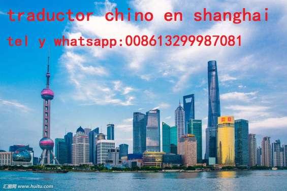 Intérprete traductor chino español en shanghai intérprete traductor chino español