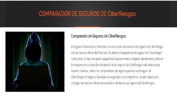 Comparador de seguros de ciber riesgo