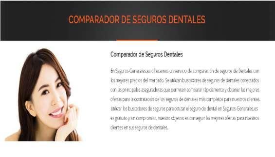 Comparado seguros dentales
