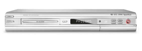 Dvd phillips grabador, muy poco uso!!