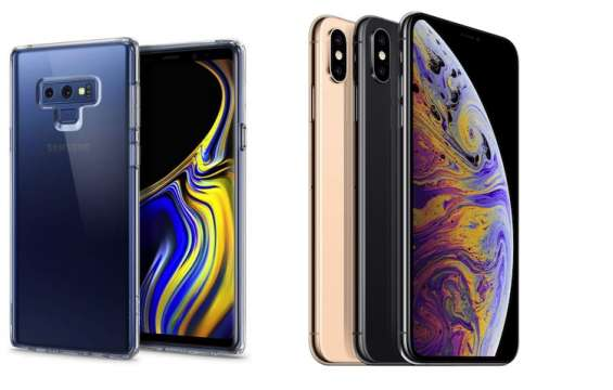 Fotos de Samsung galaxy note 9 s9+ s9 300 usd y apple iphone xs max iphone xs iphone x ip 2