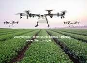 Análisis de drones agrícolas y soluciones de desarrollo de software