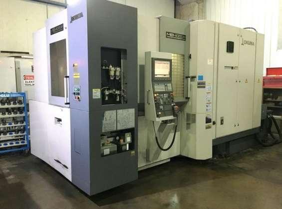 Centro mecanizado horizontal okuma - mb 4000 h cnc