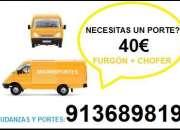 PORTES, MUDANZAS, 65//46OO8//47 PRECIO DESDE 40 EUROS