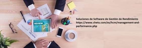 Buscando soluciones de software de revisión de empleados y seguimiento de objetivos