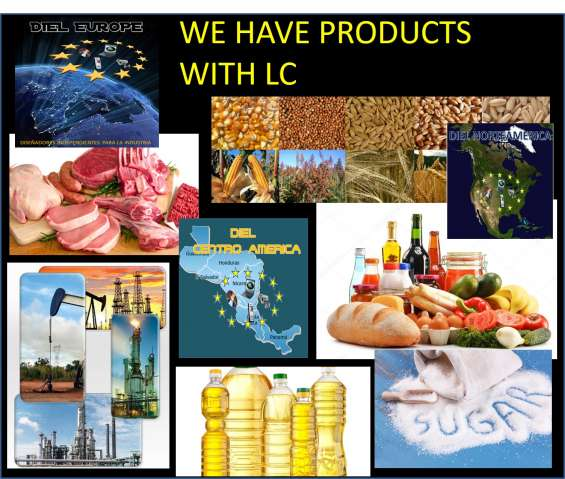 Vendemos productos alimenticios, minerales con lc