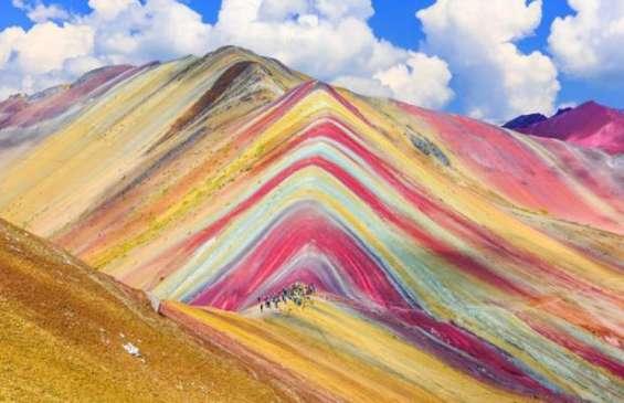 Cerro arco iris- vinicunca