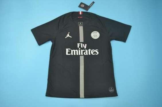 Camiseta paris saint-germain tercera 2018-2019 negro