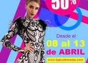 Consigue tu look ideal con un 50% en Baruch Moda