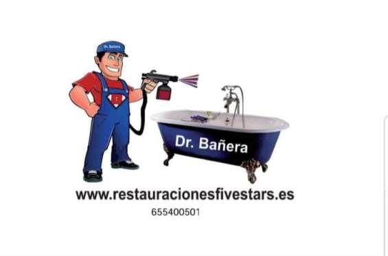 Reparación y esmaltado de bañeras