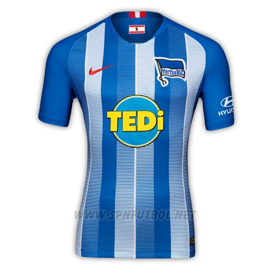 Camiseta hertha bsc 1ª 2018-2019 tailandia