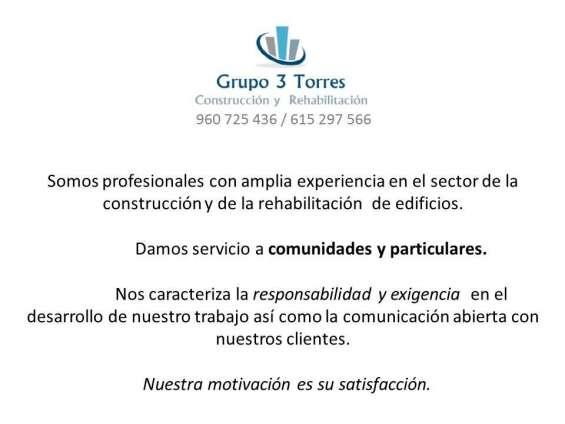 Grupo3torres construcción y rehabilitación
