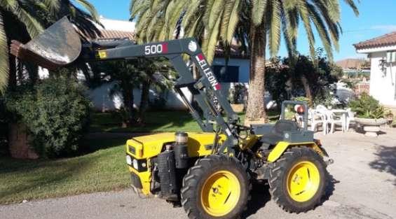 Tractor pascuali 980ex con motor lombardini