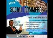 CHARLA GRATUITA SOCIAL COMMERCE ESTE JUEVES - ANIMAROS!!!!