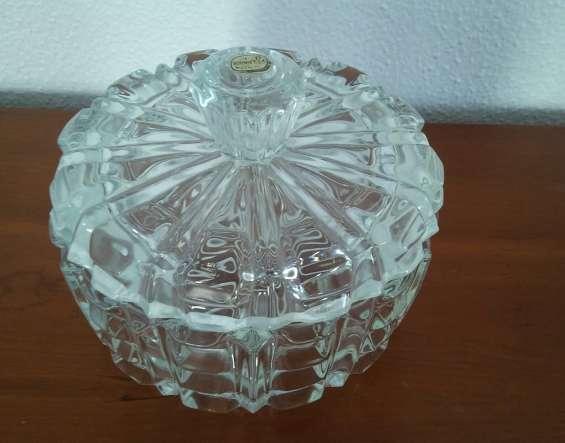 Joyero - cofre de cristal de bohemia