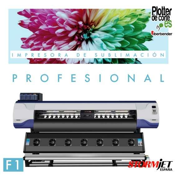 Impresora de sublimacion profesional gran formato alta produccion