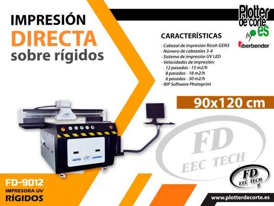 Impresora plana fd tech profesional 90x120 cm oferta limitada