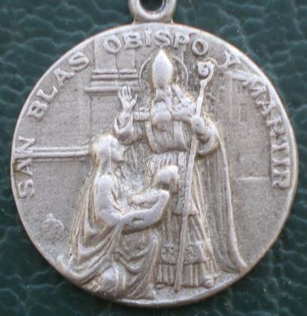 Fotos de Medalla san blas,distintos modelos 4