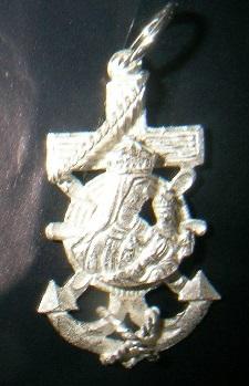 Cruces marineras virgen carmen,varios modelos