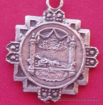Medalla santa casilda