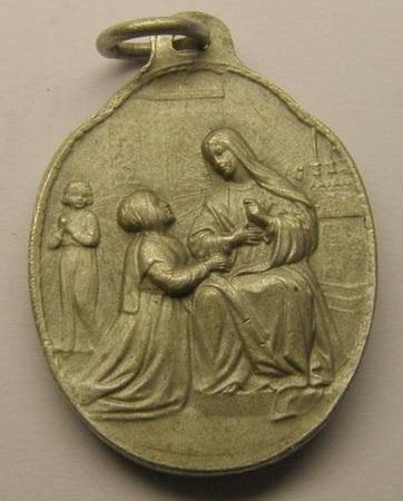 Medalla santa catalina siena y laboure