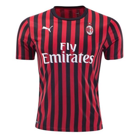 Camisetas futbol ac milan baratas 2019 20