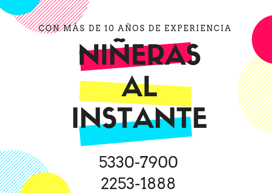 Niñeras guatemala 10 años de experiencia
