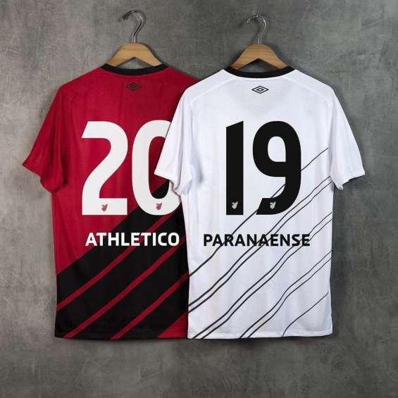 Camisetas de futbol athletico paranaense baratas