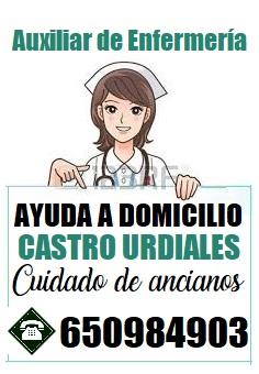 Auxiliar de enfermería de ofrece para empresas y particulares