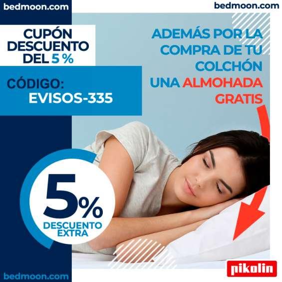Ahorra un 5% en la compra de tu colchón.