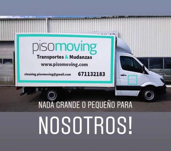 Pisomoving service transportes y mudanzas