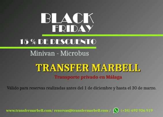 Black friday hasta el 30 de marzo