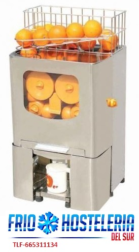 Exprimidor electrico automatico