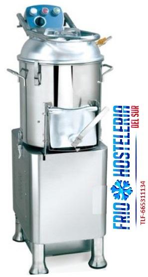 Peladora de patatas automática