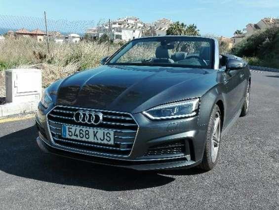 Audi a5 cabrio 2018
