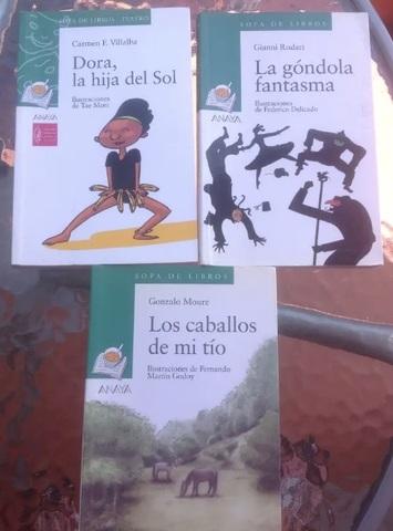 Libros lectura primaria y secundaria